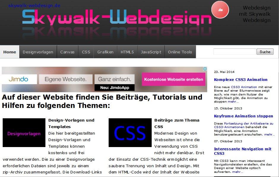 Tutorial mit Beispielen zum responisiven Webdesign